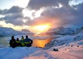 Lofoty v zimě